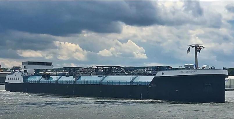 LNG London' bunker vessel begins operations in Europe - INDanube